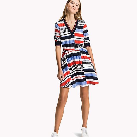 Off-Shoulder Dress - Sales Up to -50% Tommy Hilfiger EdRo00cu