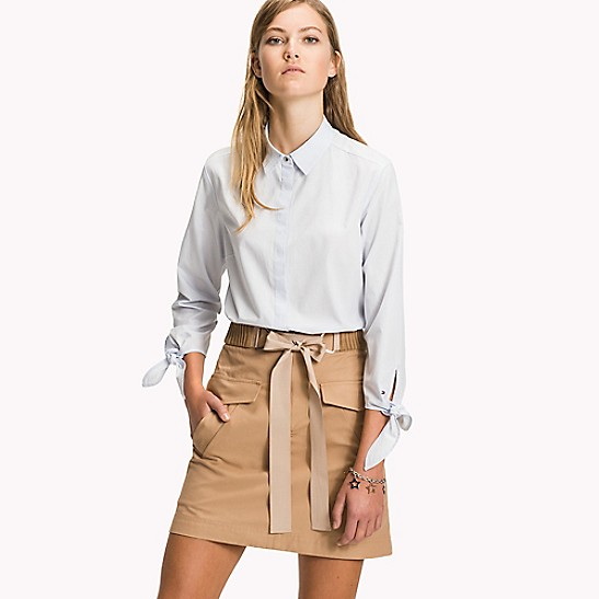 FINAL SALE Tie-Cuff Shirt 3c0e32558