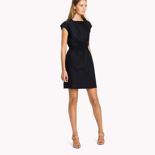 Fitted Dress - Sales Up to -50% Tommy Hilfiger