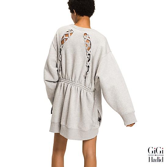 Gigi Hadid Sweatshirt Dress