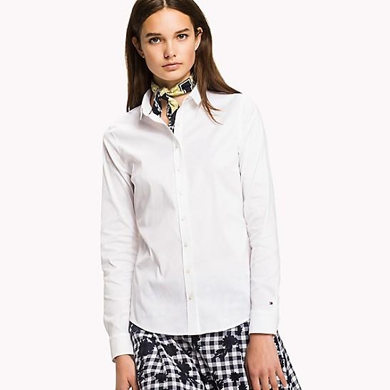 FINAL SALE Scarf-Tie Shirt 945e8cdb1