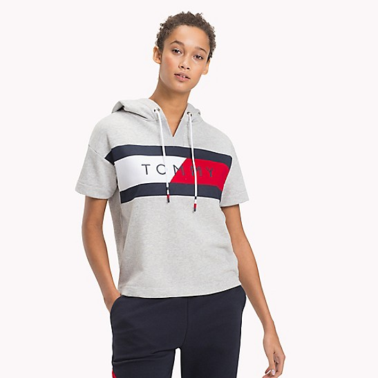 1620043d55d Tommy Sport Short-Sleeve Hoodie | Tommy Hilfiger
