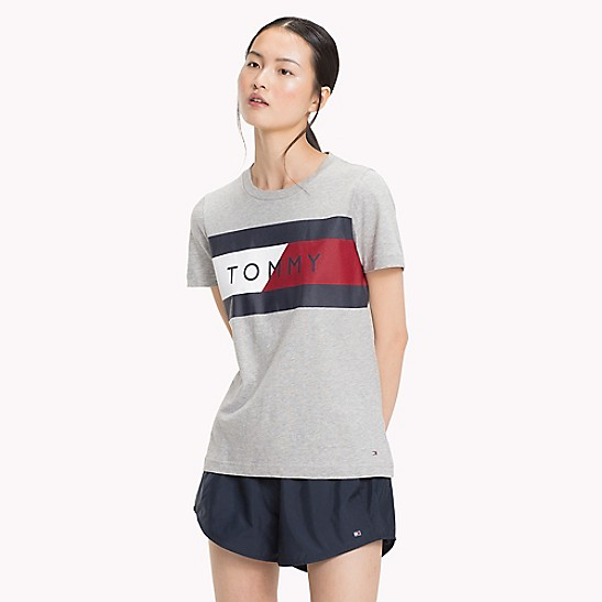 Super Qualität outlet Turnschuhe 2018 Tommy Sport Signature T-Shirt