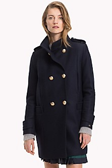 0c318abb75d285 Wool Military Coat. Quick View for Wool Military Coat. SALE. TOMMY HILFIGER