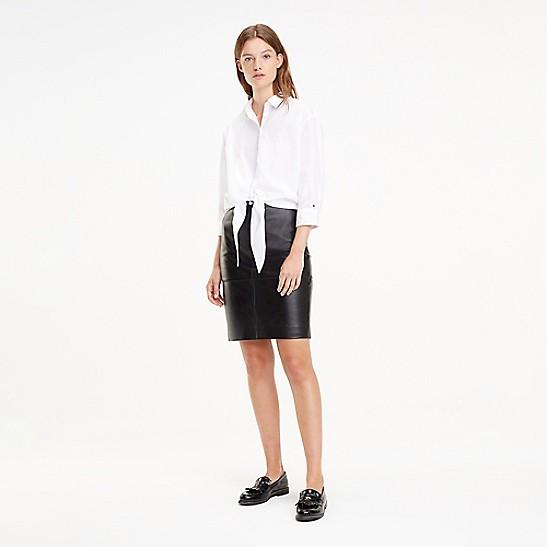 11f0b3e39f8 SALE Leather Pencil Skirt