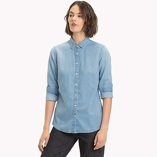 25996545 Classic Denim Shirt | Tommy Hilfiger