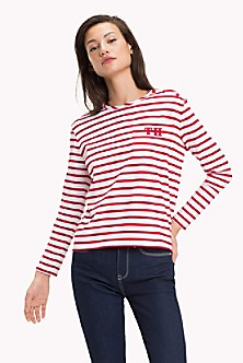 0bcd7e981233 Long-Sleeve Stripe Top. Quick View for Long-Sleeve Stripe Top. NEW TO SALE. TOMMY  HILFIGER