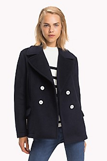 d1cafb732 Quick View for Short Peacoat. NEW TO SALE. TOMMY HILFIGER
