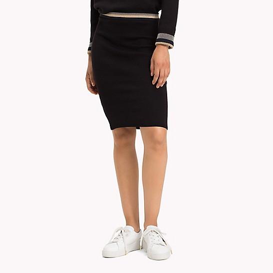 9653a0e1e9 Reversible Shimmer Stripe Knit Skirt | Tommy Hilfiger