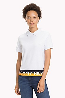 3fb599283826 Quick View for Logo Hem Polo. NEW TO SALE. TOMMY HILFIGER