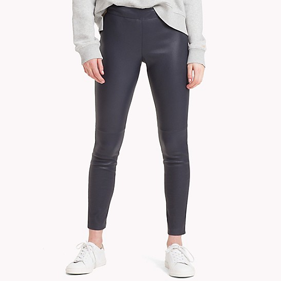 57da47eac0 Tommy Icons Leather Pants   Tommy Hilfiger