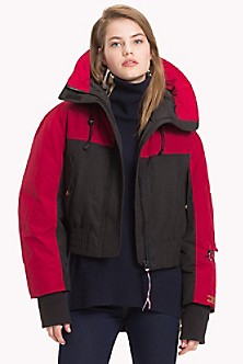 718879661 Tommy Icons Cropped Parka