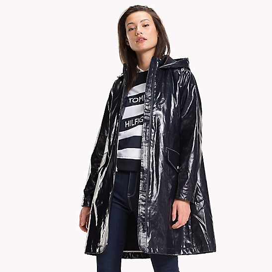 ee12c9869 Long Hooded Raincoat | Tommy Hilfiger