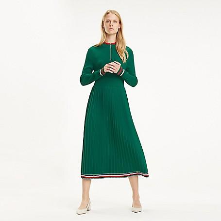 12dc785b7ec Pleated Midi Dress