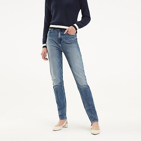 33a5cc5f High Rise Slim Fit Jean | Tommy Hilfiger