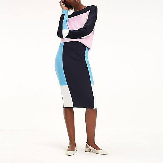 4cad499dbd Colorblock Pencil Skirt | Tommy Hilfiger