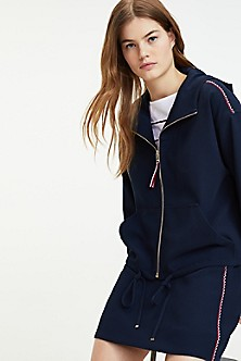 5858c2b17 Women's Hoodies & Sweatshirts | Tommy Hilfiger USA