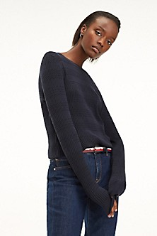 bde445462ce77a Essential Cableknit Sweater. Quick View for Essential Cableknit Sweater. TOMMY  HILFIGER