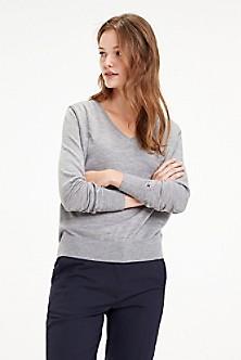 440340999fbfb5 Essential Wool V-Neck Sweater