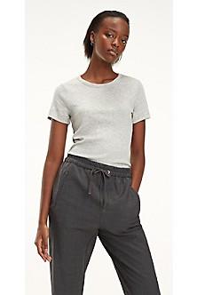 1892396f74a8c Ribbed Short-Sleeve T-Shirt