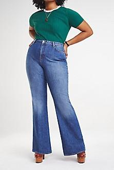1073a25c08f Zendaya Curve High Waist Bootcut Jeans