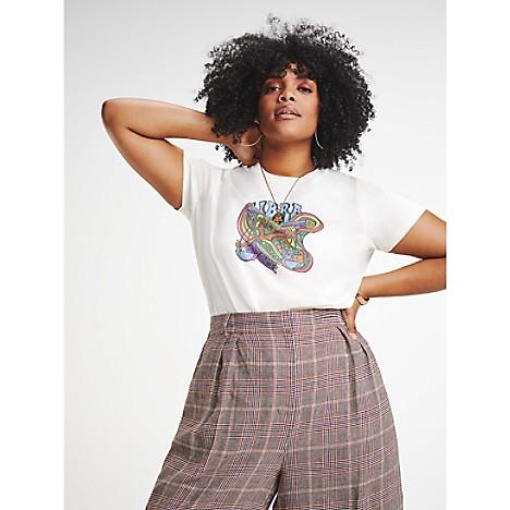Zendaya Curve Organic Cotton Zodiac T-Shirt