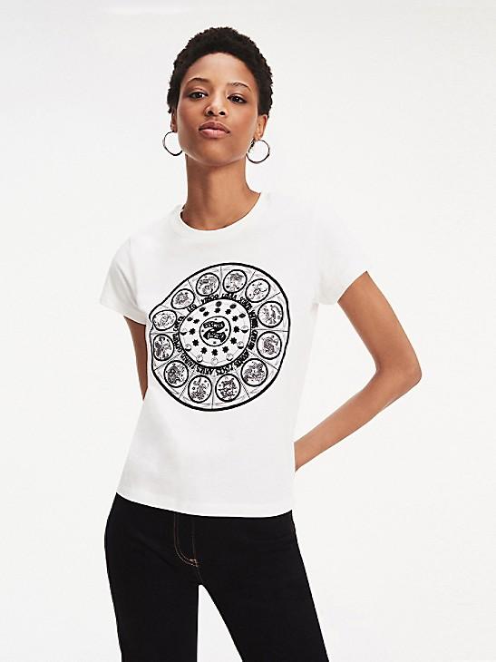 Zendaya Zodiac Print T Shirt