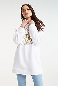 fc4683b8e Women's Hoodies & Sweatshirts   Tommy Hilfiger USA
