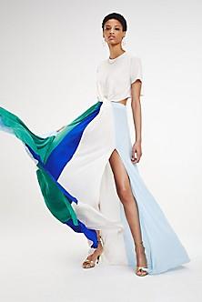 Zendaya Twist Front T-Shirt Dress