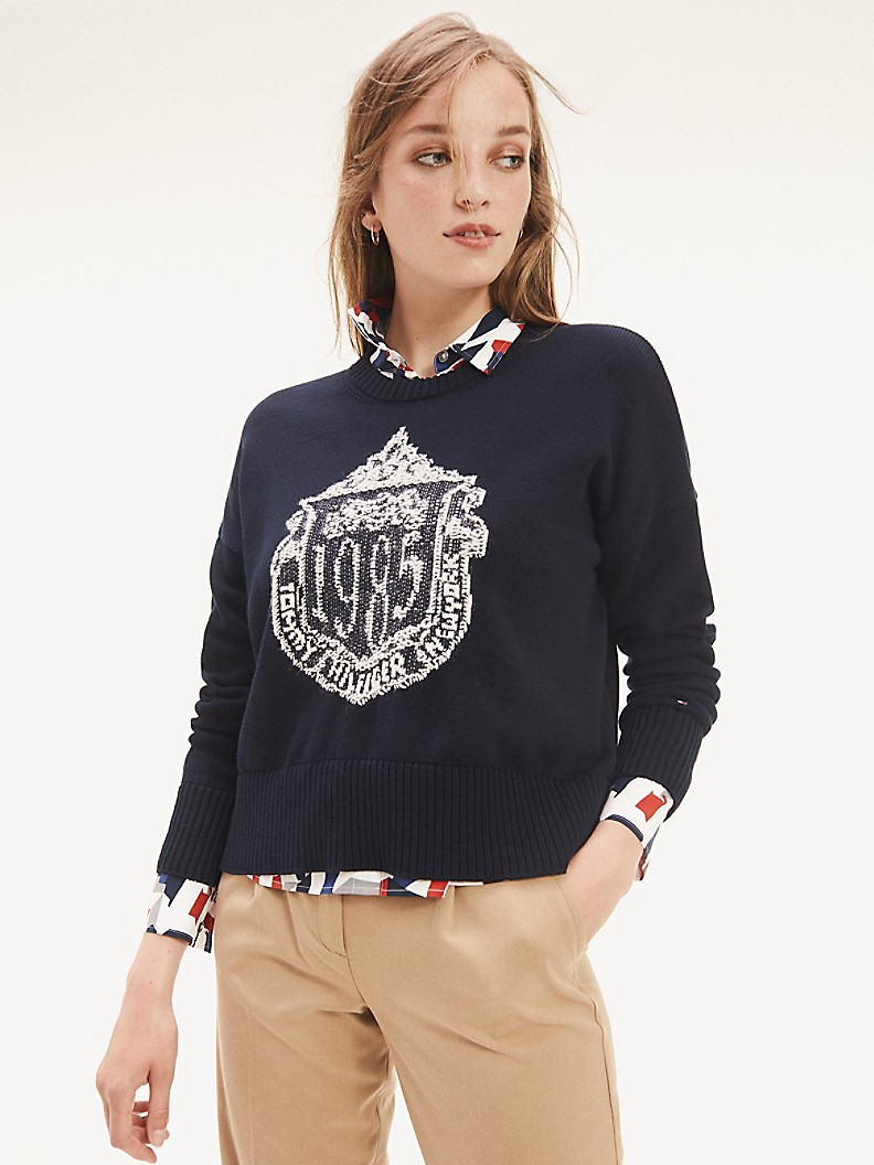 NEW TO SALE Logo Sweater
