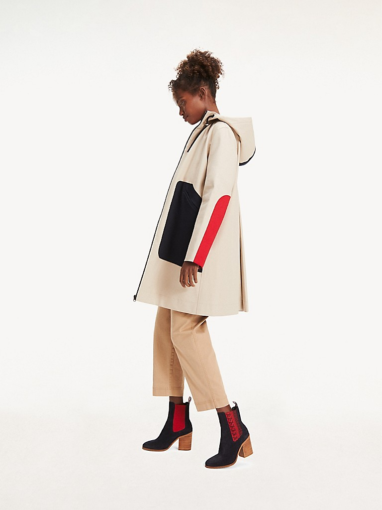 NEW TO SALE Bonded Colorblock Parka