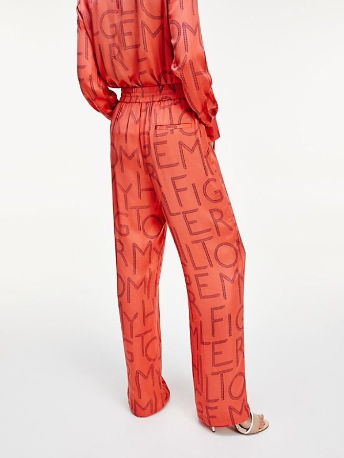 NEW TO SALE Wide-Leg Logo Pant