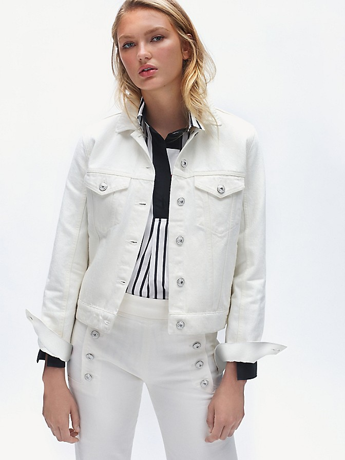 NEW TO SALE Icon Denim Flag Jacket