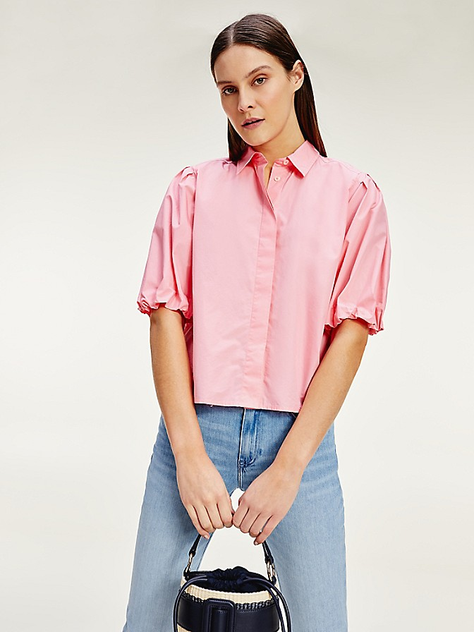 NEW Cropped Cotton Shirt