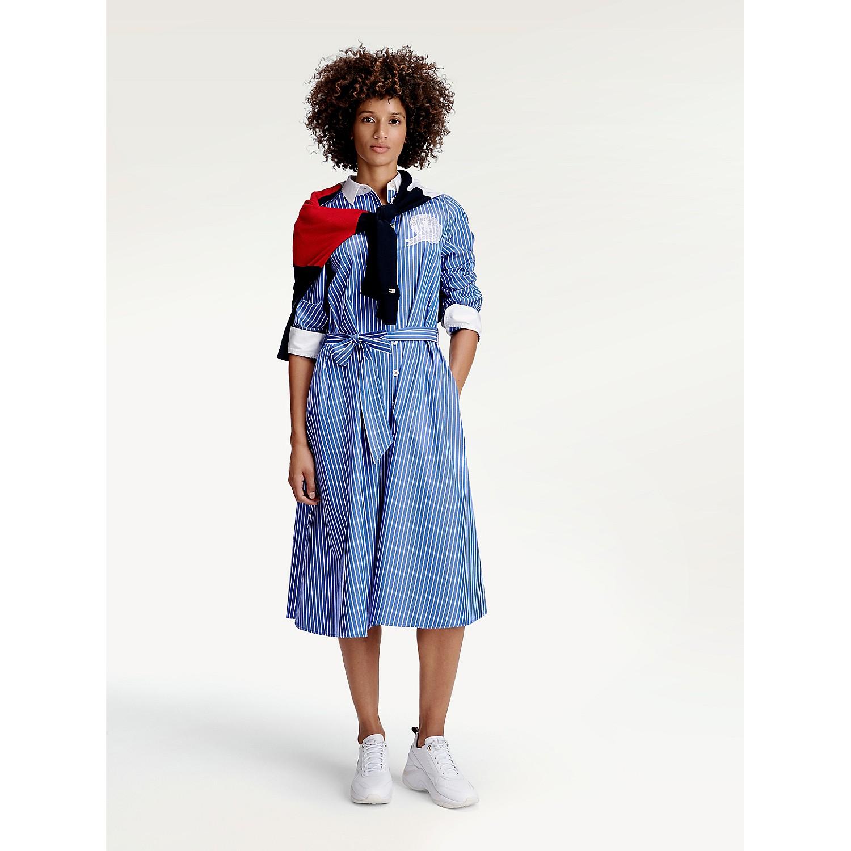 TOMMY HILFIGER Icon Stripe Shirtdress