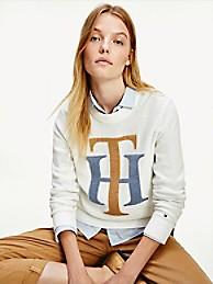 타미 힐피거 Tommy Hilfiger Varsity Monogram Sweater