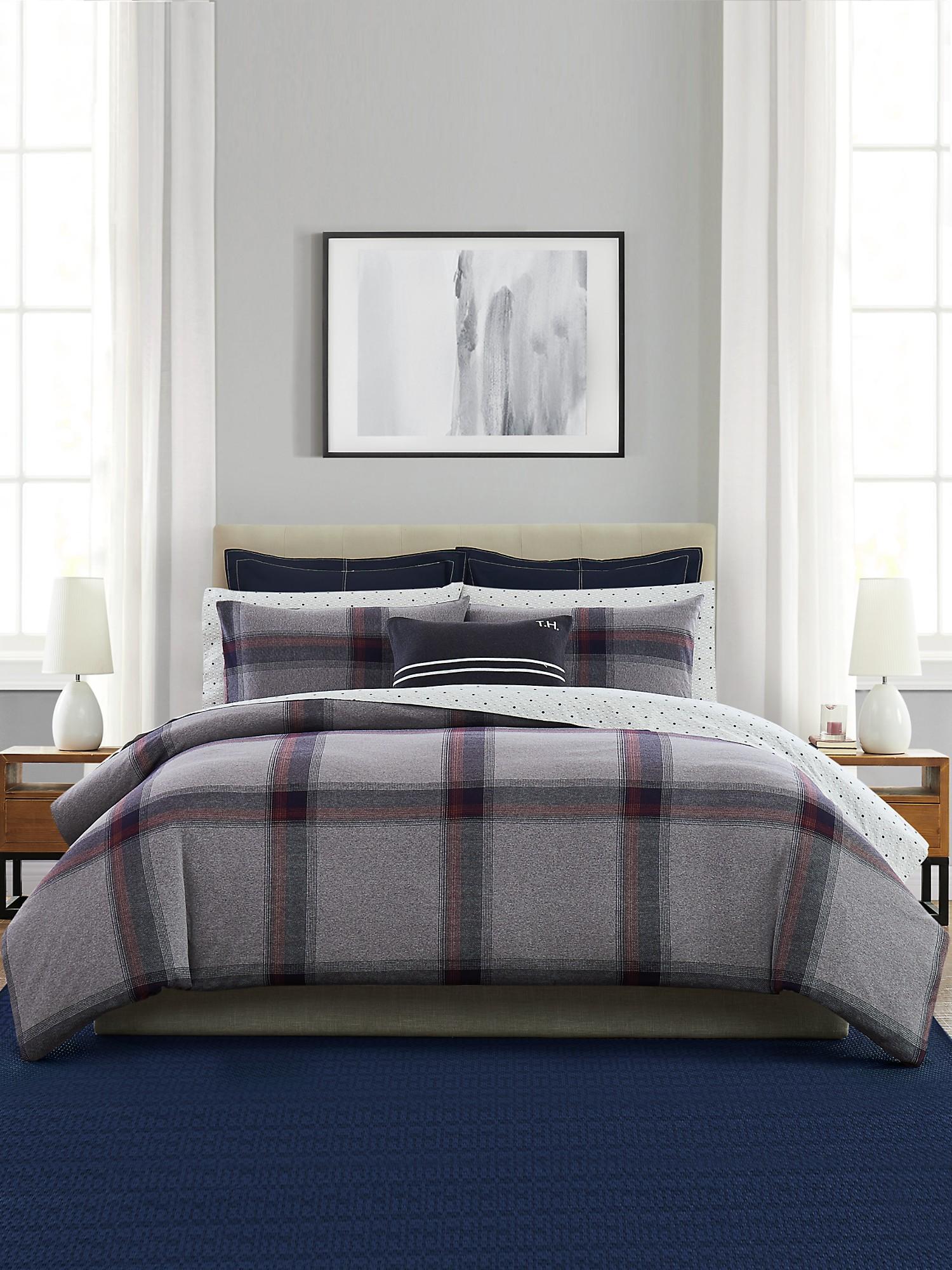 TOMMY HILFIGER Tartan Comforter Set