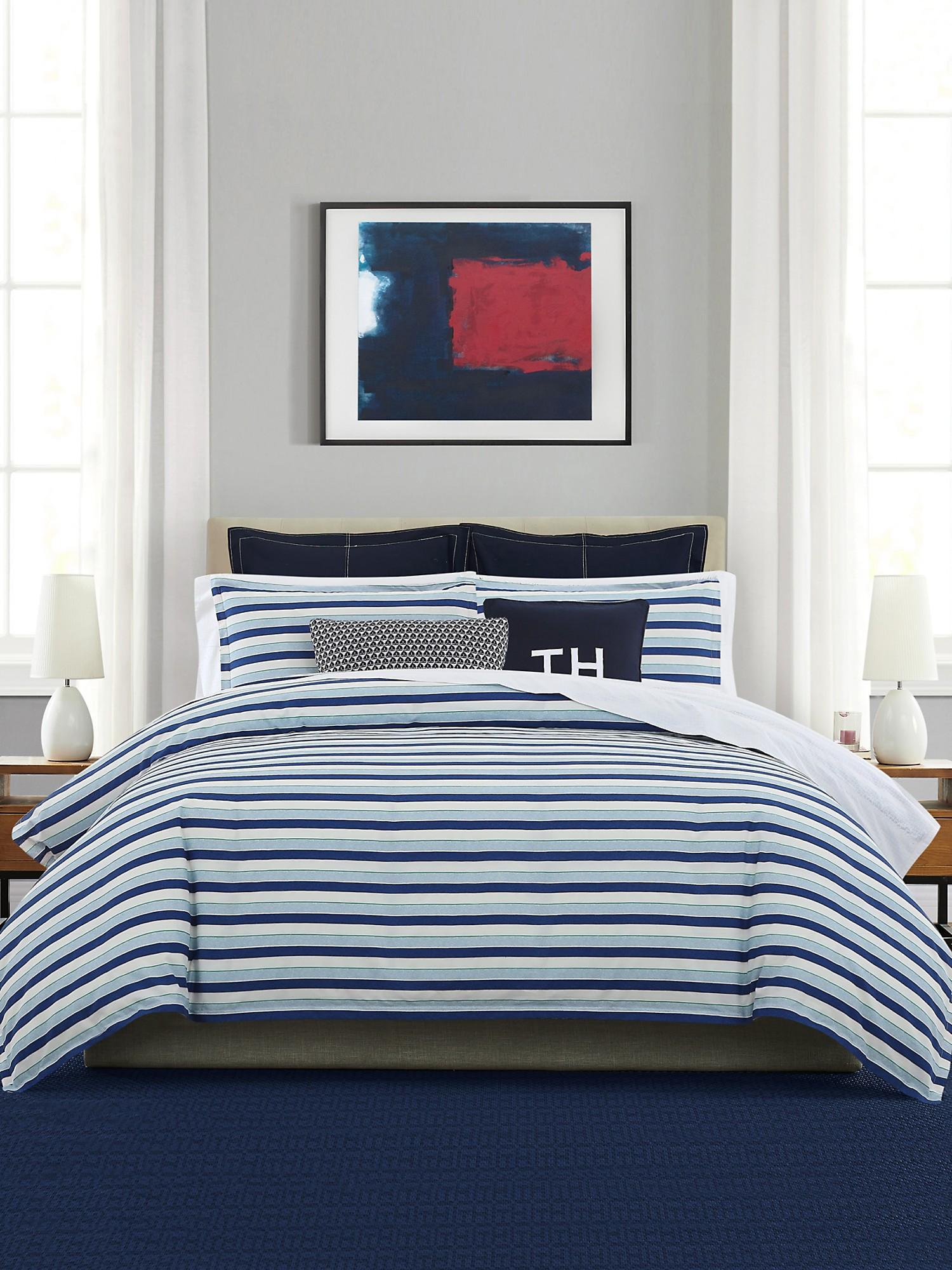 TOMMY HILFIGER Bold Stripe Comforter Set