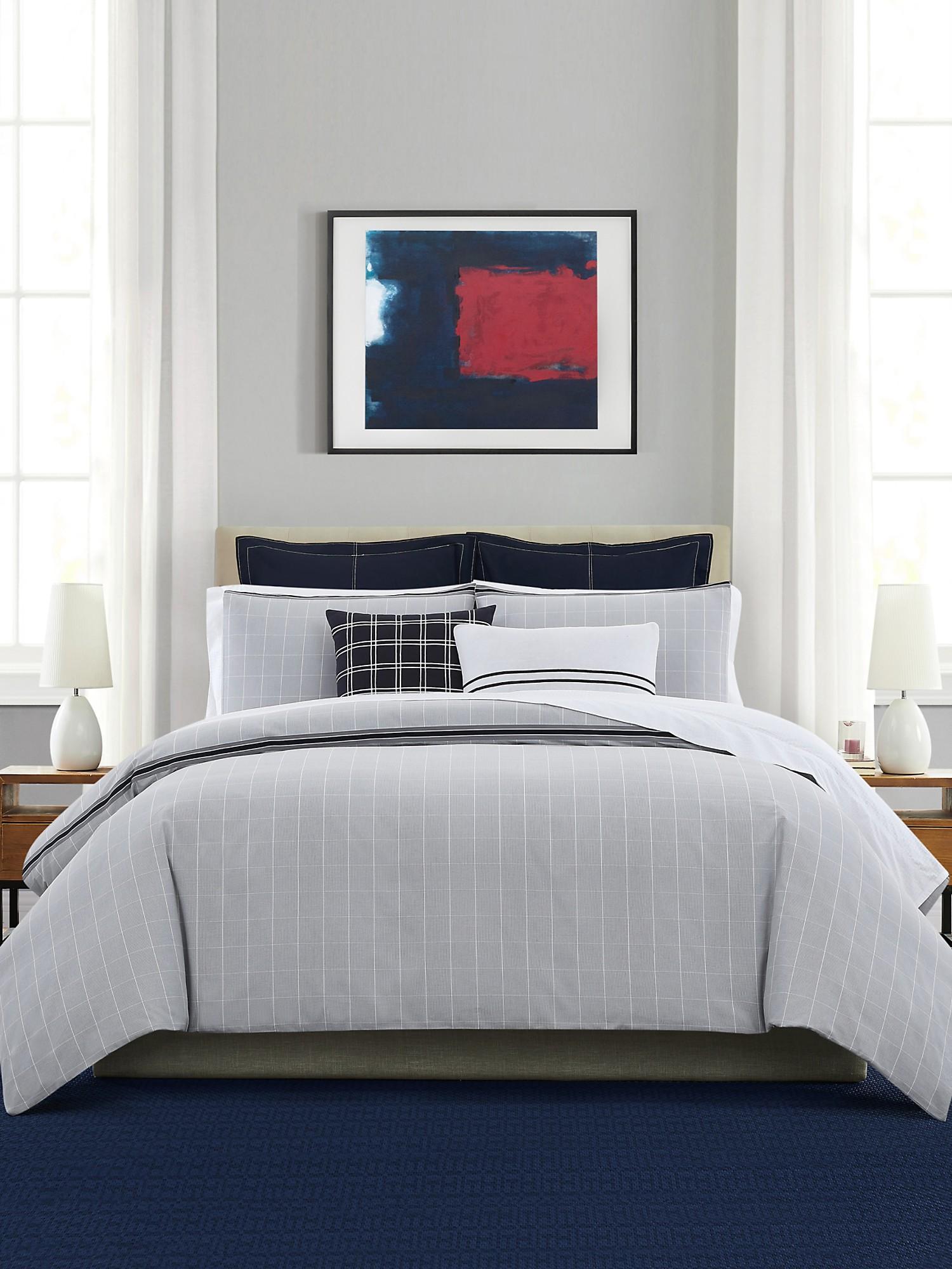 TOMMY HILFIGER Check Comforter Set
