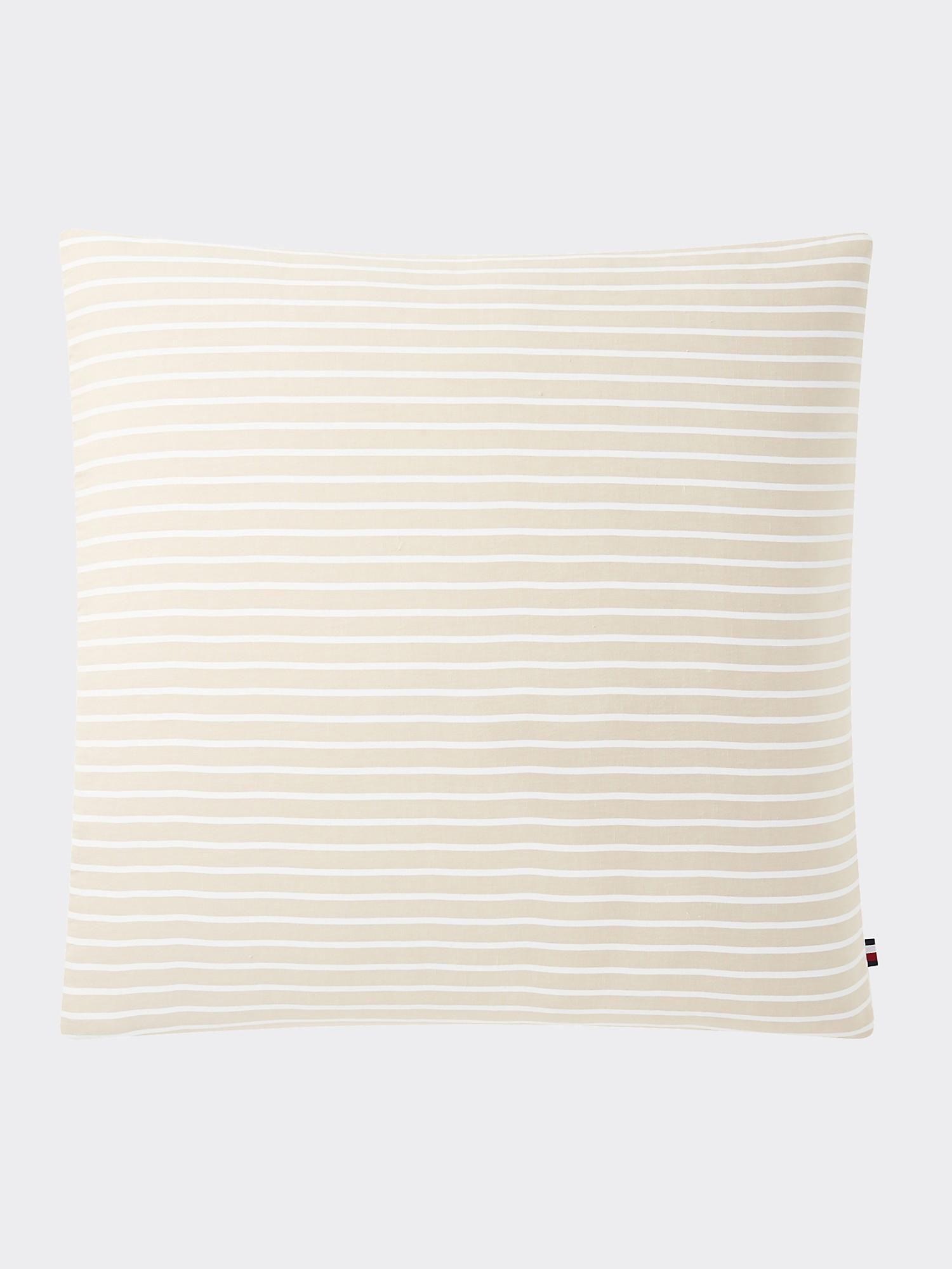 TOMMY HILFIGER Logo Stripe Pillow