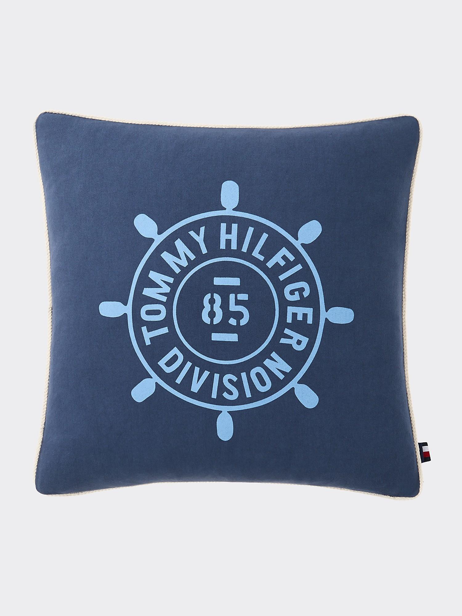 TOMMY HILFIGER Nautical Logo Decorative Pillow
