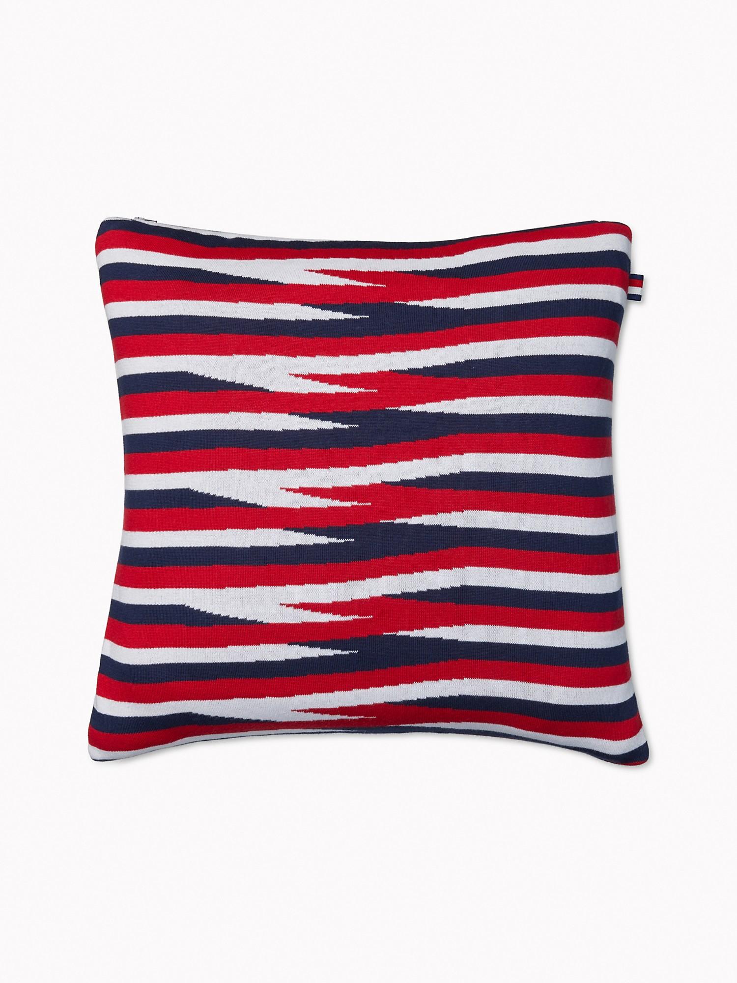 TOMMY HILFIGER Stripe Decorative Pillow