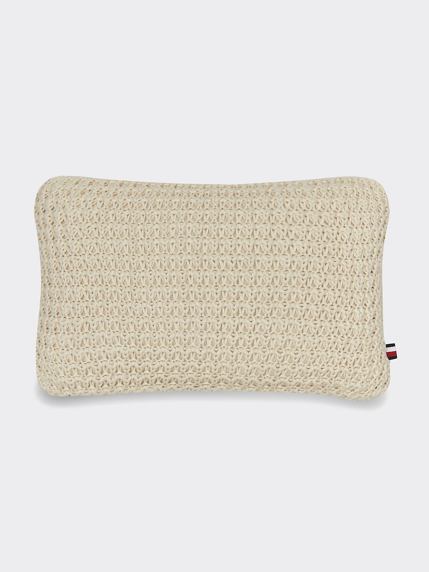TOMMY HILFIGER Macrame Decorative Pillow