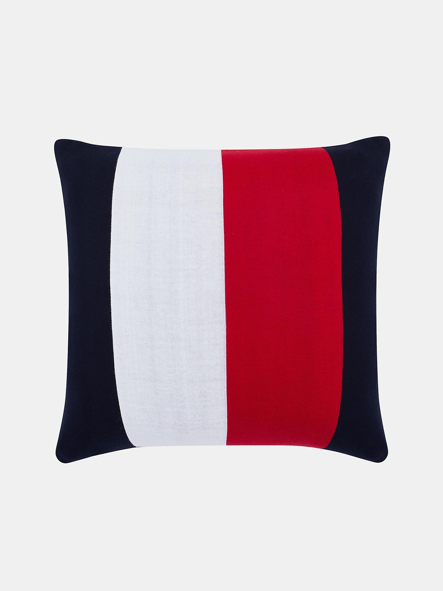 TOMMY HILFIGER Knit Stripe Decorative Pillow