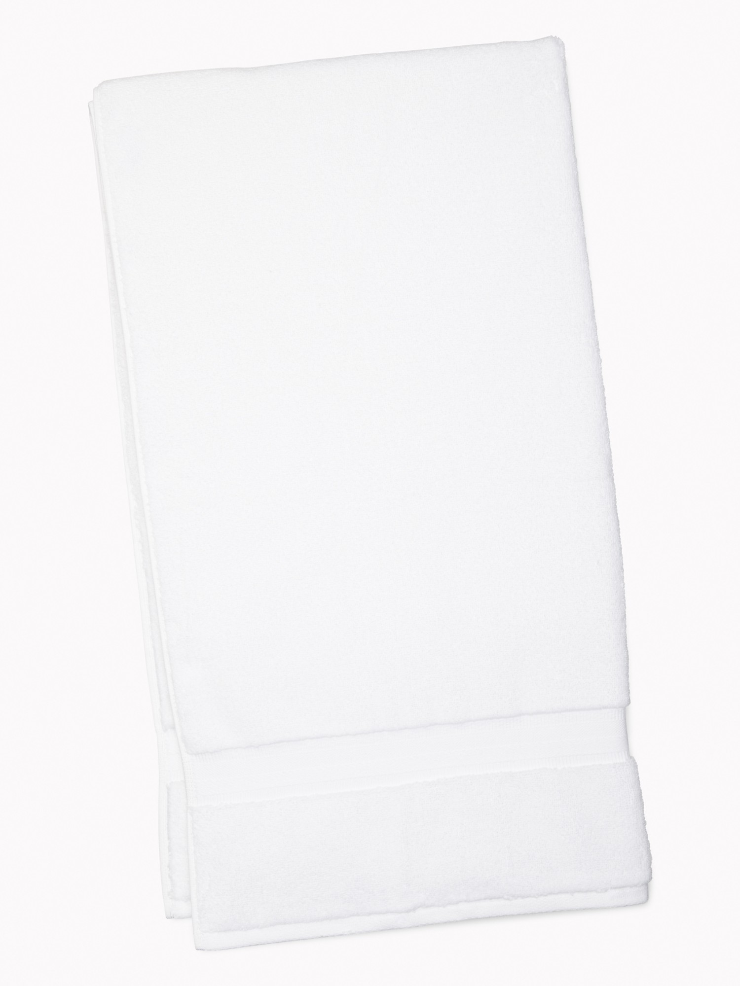 TOMMY HILFIGER Signature Solid Bath Towel in White
