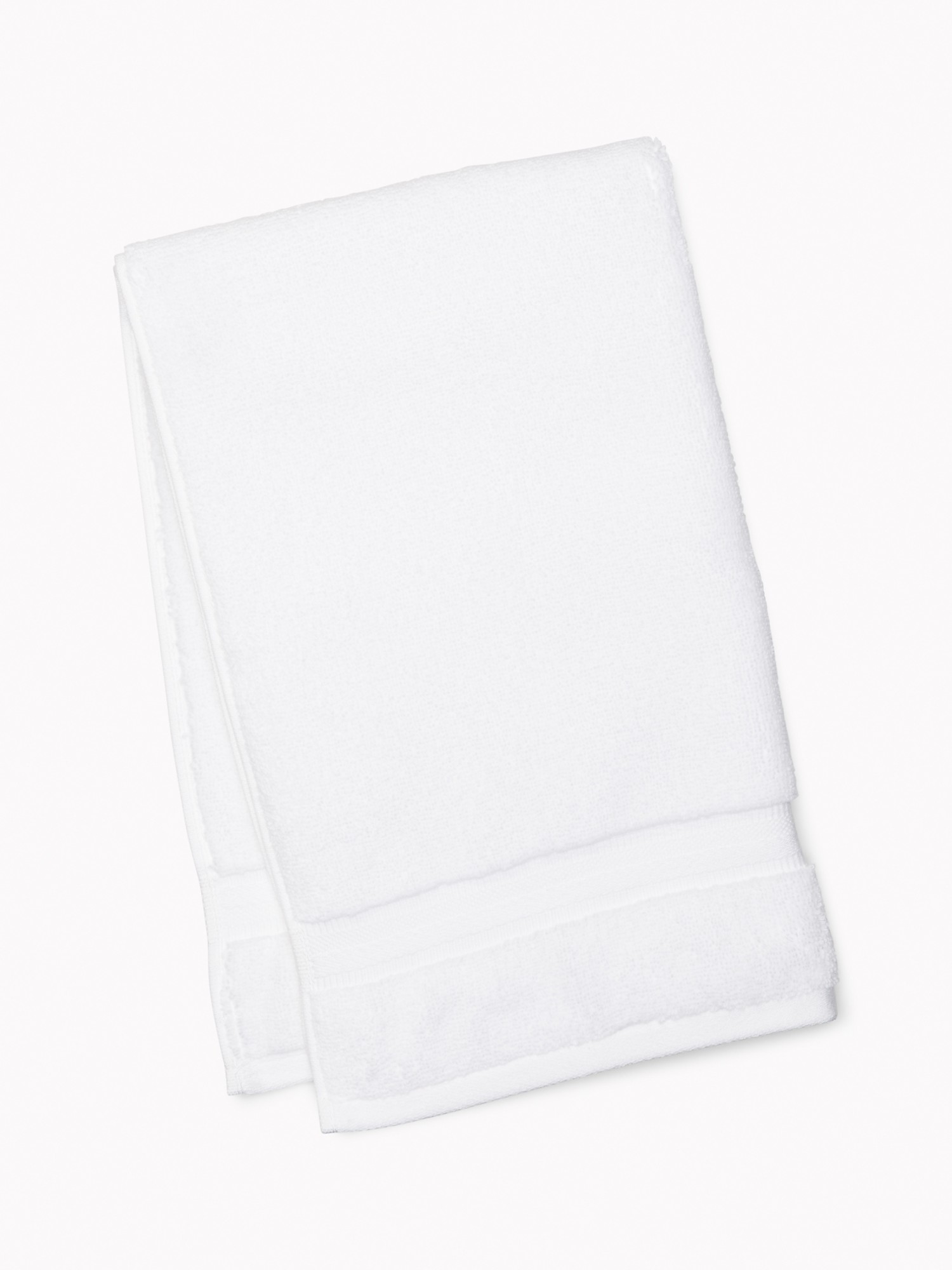 TOMMY HILFIGER Signature Solid Hand Towel in White