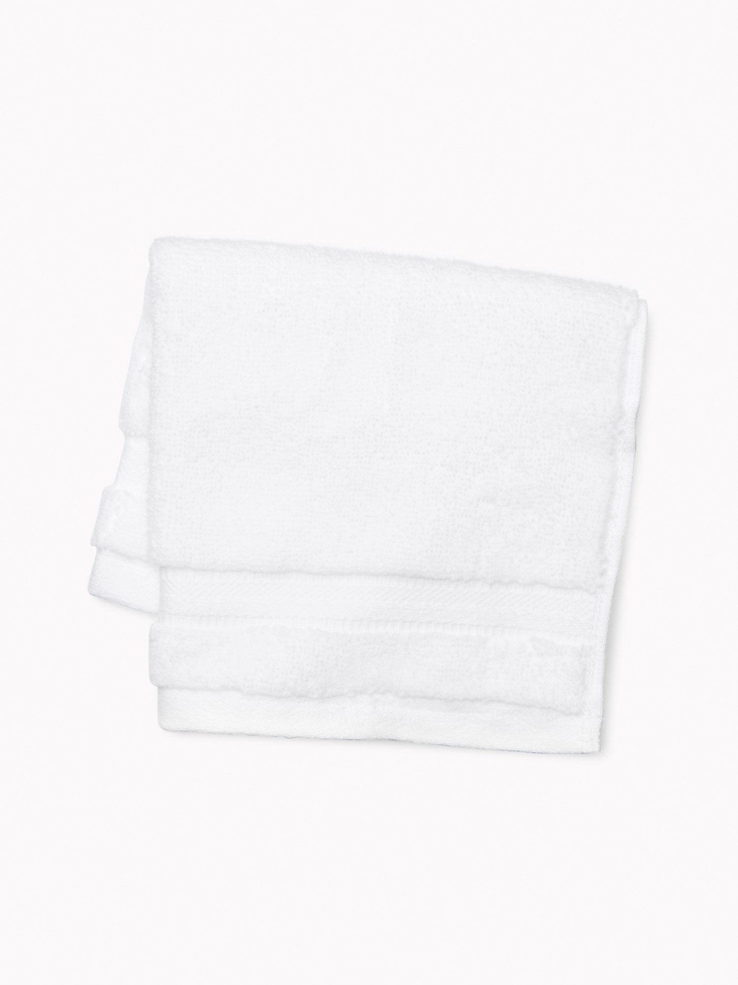 TOMMY HILFIGER Signature Solid Washcloth In White