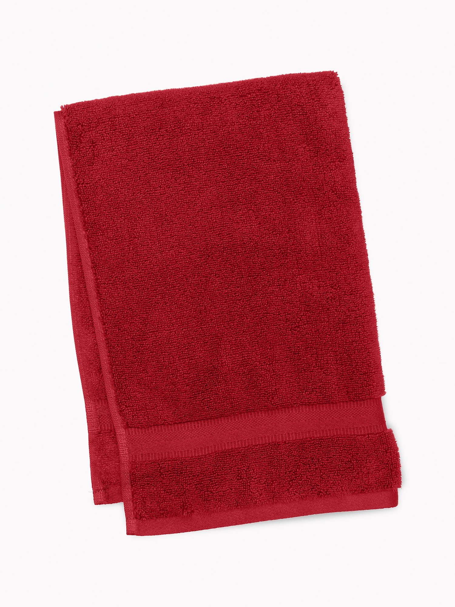 TOMMY HILFIGER Signature Solid Hand Towel in Biking Red