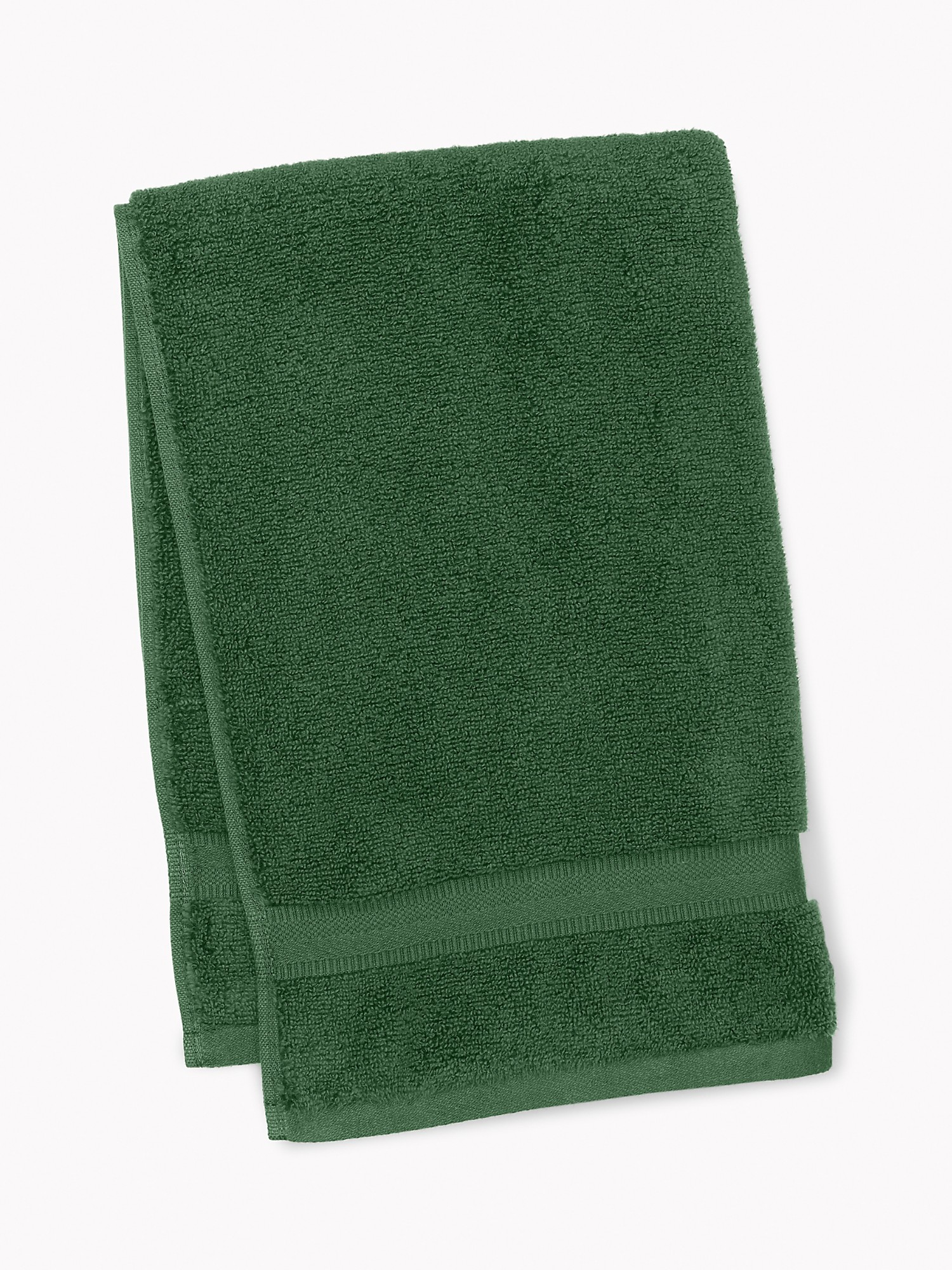 TOMMY HILFIGER Signature Solid Hand Towel in Pine Needle