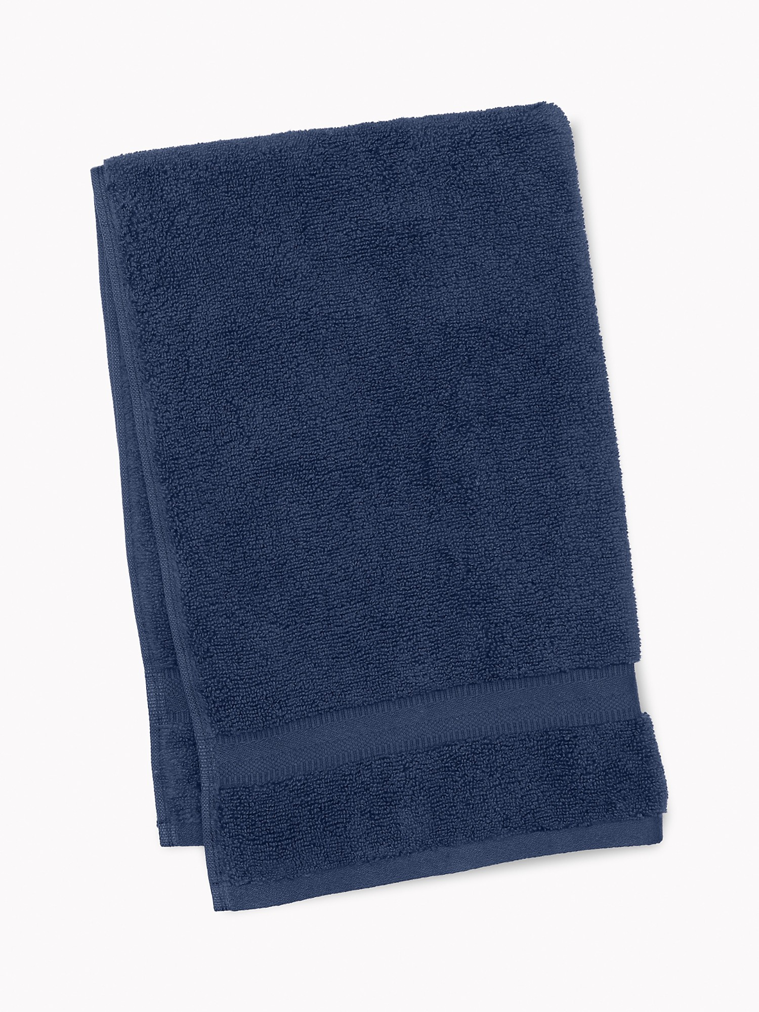 TOMMY HILFIGER Signature Solid Hand Towel in Medieval Blue
